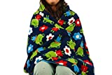 Fleece throw blanket- Happy frog