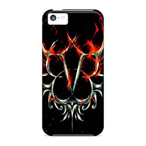JonathanMaedel Iphone 5c Excellent Cell-phone Hard Cover Allow Personal Design Attractive Black Veil Brides Image [xES1416kjhG]