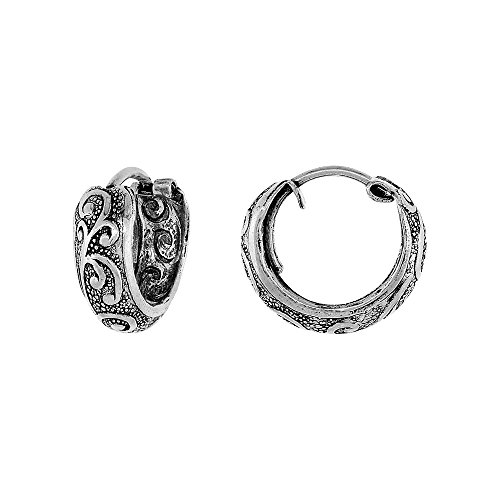 Sterling Silver Hinged Earrings Pattern