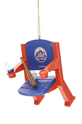 New York Mets Official MLB 4 inch x 3 inch Stadium Seat Ornament -