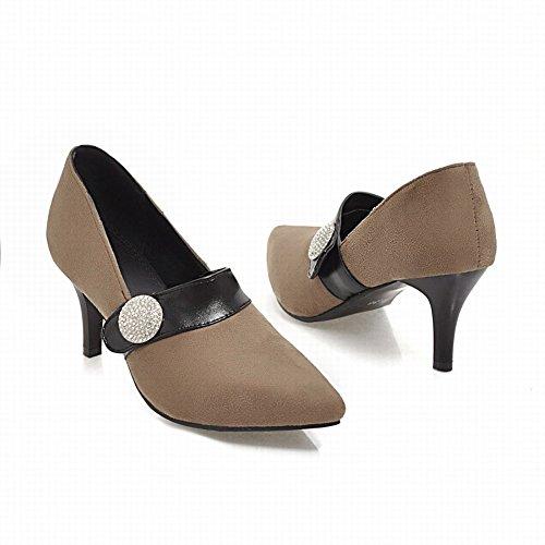Breloque Pied De Femme Strass Talon Haut Bout Pointu Pompes Chaussures Abricot