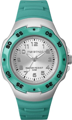 Timex T5K581 Jelly Green Marathon Watch