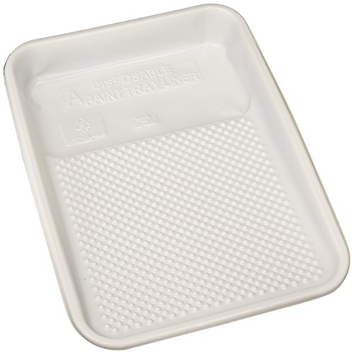Linzer RM4110 Plastic Tray Liner (10 Pack), White ()