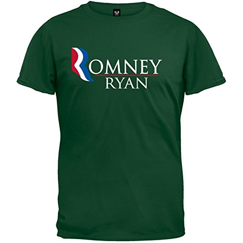 (Old Glory - Mens Romney And Ryan Forest T-shirt 2x-large Dark)