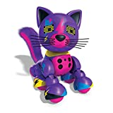 zoomer robot dog for girls - zoomer Meowzies, Lucky, Interactive Kitten with Lights, Sounds and Sensors, by Spin Master