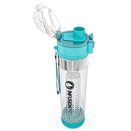 eccda9f1ab Infusion Pro Water Infuser – 24 oz Fruit Infused Water Bottle | Premium  Leak Proof Tritan
