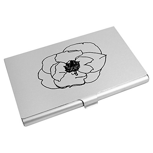 CH00001646 Card 'Poppy Head' Card Azeeda Holder Credit Business Wallet 7O8qTnnW1U