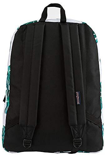 JanSport SuperBreak Backpack, White Monstera Leaves by JanSport (Image #3)