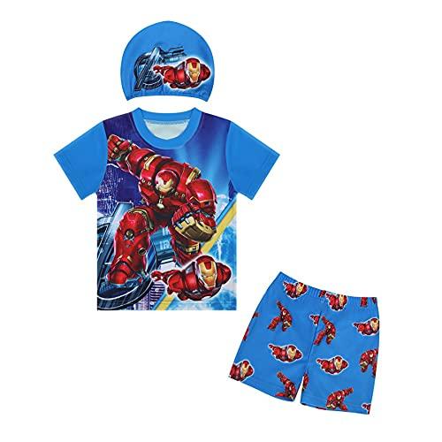 Cosplay Hulk Badpak Kid Zwemmen Kostuum Zomer Strand Badmode Kledingstuk Kinderen Surfwear Korte Mouw Rashguard Shirts…
