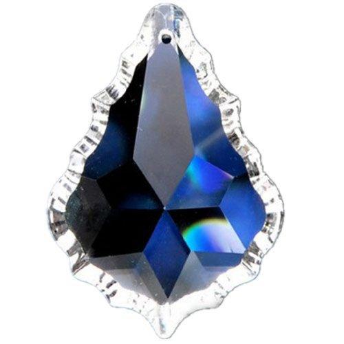 5pcs 50mm Asfour Clear Crystal Lamp Prism Parts Hanging Pendants Suncatcher