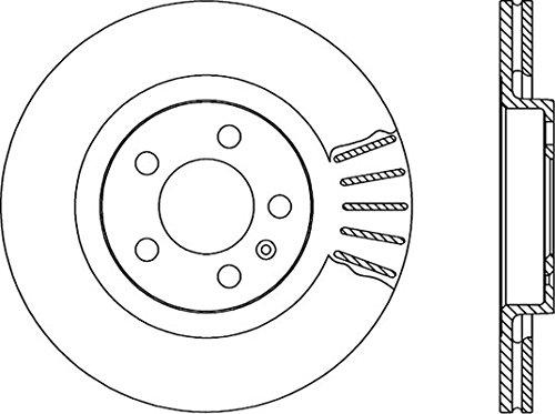 Open Parts BDA1666.20 Disco de Frenos Standard 2 Piezas