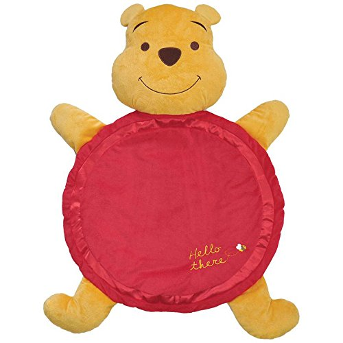 [Kids Preferred Disney Winnie The Pooh Baby Plush Activity Playmat] (Infant Red Minnie My First Disney Costumes)