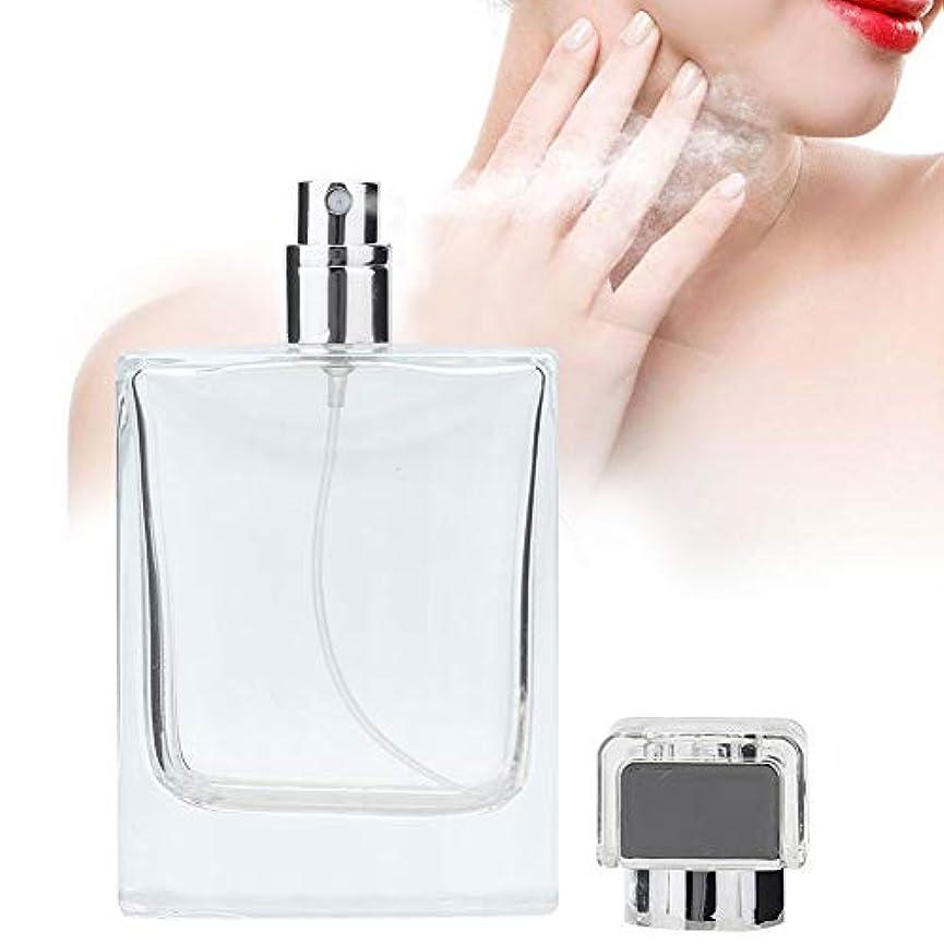通行人遮る枠100 ML ガラス 詰め替え 香水スプレーボトル 空の香水アトマイザーディスペンサーボトル