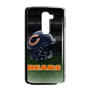 LG G2 Cell Phone Case Black Chicago Bear SJ9474128