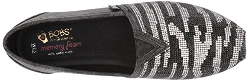 Bobs From Skechers Womens Luxe Bobs-lily Love Flat Black
