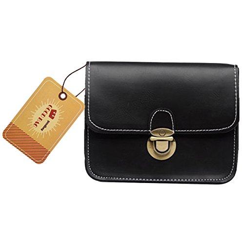 Goodbag Boutique Lady Elegant Leather Fanny Pack Fashion Waist Pouch Travel Cell Phone Bag Clutch Handbag