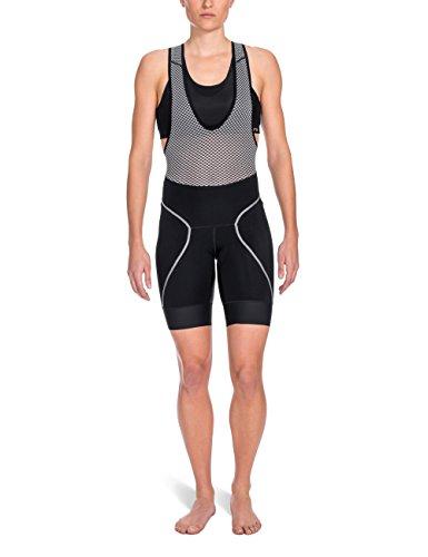 SKINS Women's Cycle Bib Shorts, Black, - Shorts Cycle Bib Womens