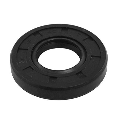 AVX Shaft Oil Seal TC 13x26x7 Rubber Covered Double Lip With Garter Spring by AVXSeals
