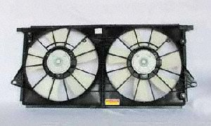 TYC 621440 Buick/Cadillac Replacement Radiator/Condenser Cooling Fan Assembly