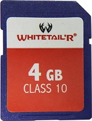 Whitetail'R TrailCAM 4GB SD Card [並行輸入品] B01LXN4LH9