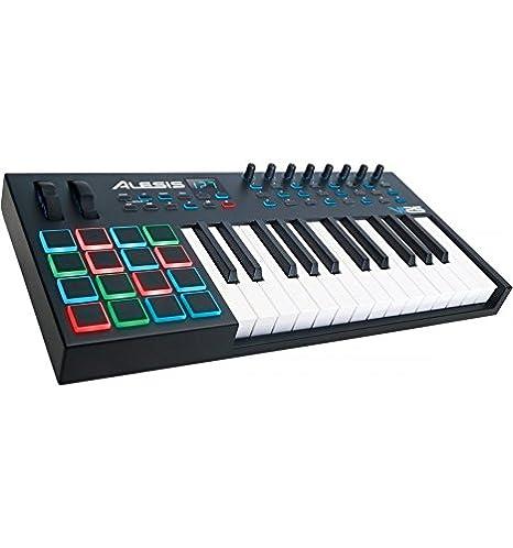 Alesis VI25 - Teclado Maestro Midi 25 Notes 16 pads Stock B: Amazon.es: Instrumentos musicales