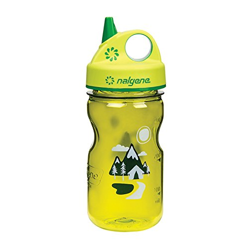 Nalgene Grip 'n Gulp Trail Bottle, Green