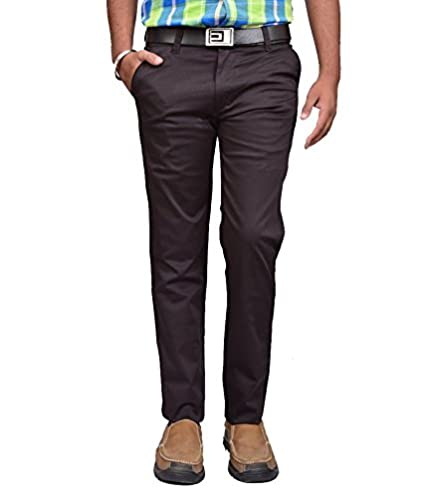 Buy brown chinos for men |stretchable trousers for men | slim fit pants for  men | chinos pants for mens | cotton chinos for men | casual pants men |  pant for