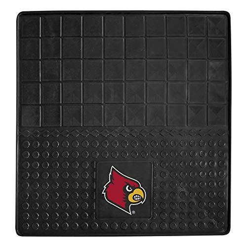Louisville Football Rug - FANMATS NCAA University of Louisville Cardinals Vinyl Cargo Mat
