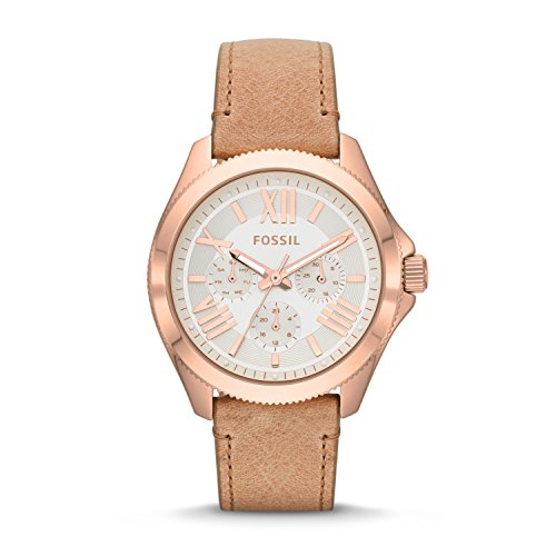 Fossil Women's AM4532 Cecile Multifunction Gold-Tone Stai...