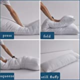 ELNIDO QUEEN Full Body Pillow Insert, Soft Large