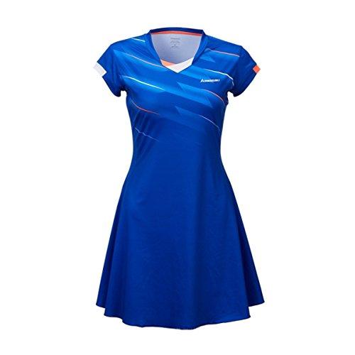(Sports Dress Women's Casual Sportswear Mini Short Tennis Dresses for Girl L Blue)