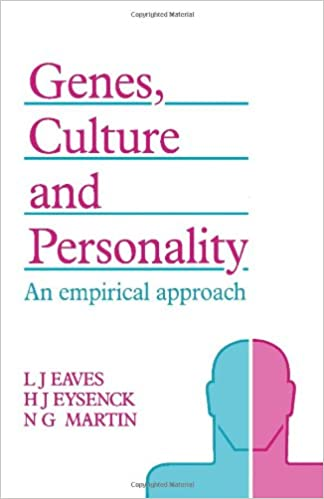Genes, Culture, and Personality: An Empirical Approach ...