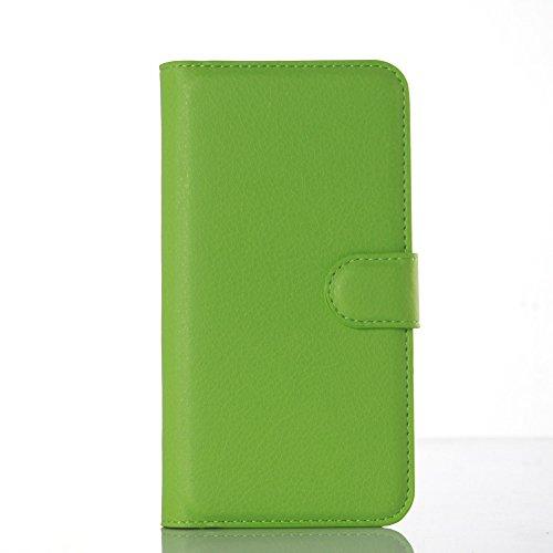 Funda Huawei Enjoy 5S/Huawei G8 mini/Huawei GR3,Caja del teléfono del cuero,Protector de Pantalla de Slim Case Estilo Billetera con Ranuras para Tarjetas, Soporte Plegable, Cierre Magnético(JFC6-11) F