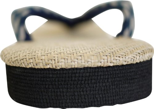 Sandali Panama Giapponesi Per Uomo Made In Japan Setta Zori * Misura Della Scarpa Del Giappone * 3