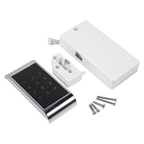 Yosoo Cerradura de Puerta Teclado Táctil Bloqueo de Clave Seguridad Digital Gabinete Electrónica Armario Codificado para...