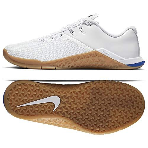 (Nike WMNS Metcon 4 XD X Whiteboard BV2052-112 White/Gum Brown Women's Training Shoes (9.5))