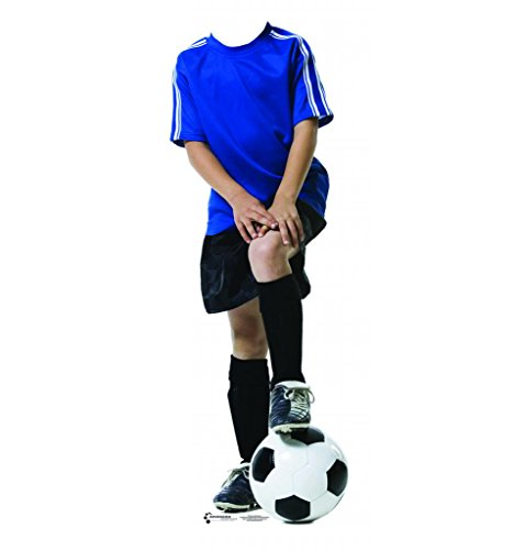 Soccer Boy Stand-In - Advanced Graphics Life Size Cardboard Standup by Advanced Graphics