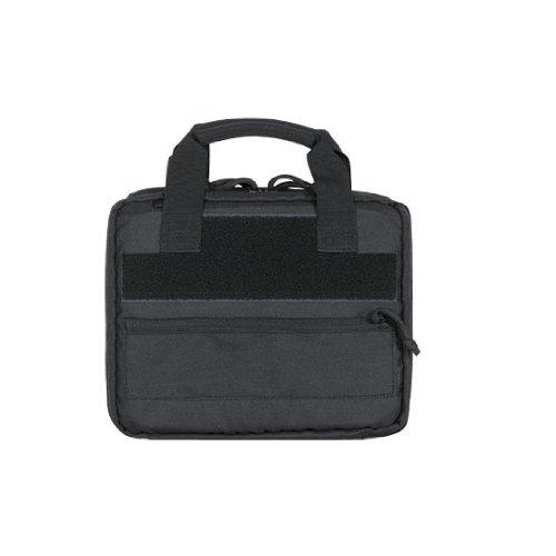 4MORELOVE VooDoo Tactical 20-9100001000 Swank's Pistol Case, Black, - Tactical Pistol Case