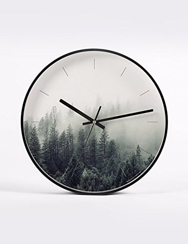 SUNQIAN-Original art clock, modern minimalist living room bedroom wall quartz clock,b by SUNQIAN