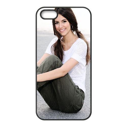 Brunette Smile Style Shoes Pants Hair 44156 coque iPhone 5 5S cellulaire cas coque de téléphone cas téléphone cellulaire noir couvercle EOKXLLNCD22549