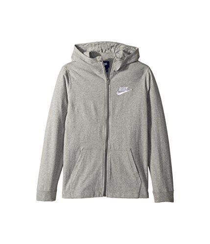 Sweatshirt Boys Field - Nike Boys' Sportswear Full-Zip Hoodie (Gray,Large)