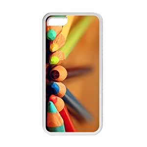 Personalized Creative Cell Phone Case For iPhone 5/5s,colorful pencil