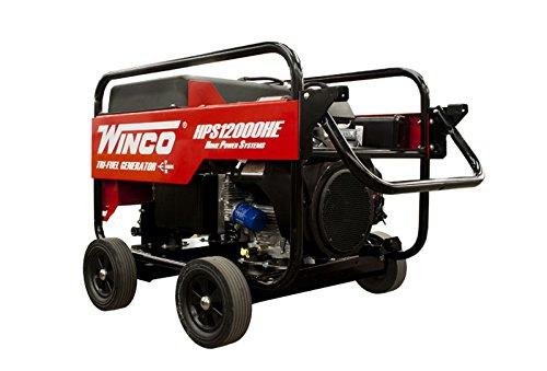 Winco HPS12000HE dwelling capability portable Generator, 12,000W Maximum, 460 lb. Cheap Prices