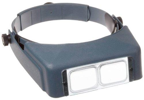 (Donegan OptiVISOR LX Binocular Magnifier-Lensplate #4 Magnifies 2X At 10