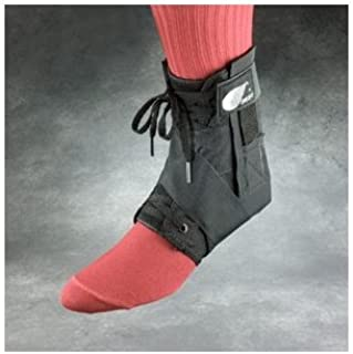 product image for Core Products 22111 Swede-O Strap Lok Ankle Brace, External Strap, X-Small, Black