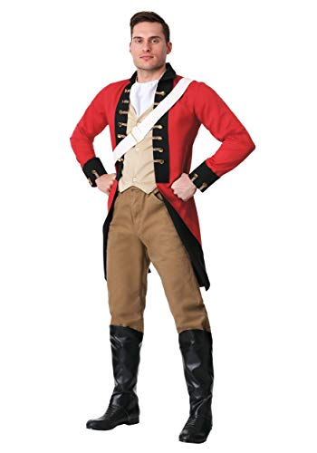 British Redcoat Halloween Costumes - Adult British Redcoat Costume