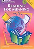 Reading for Meaning, Linda Denstaedt, 1568226314