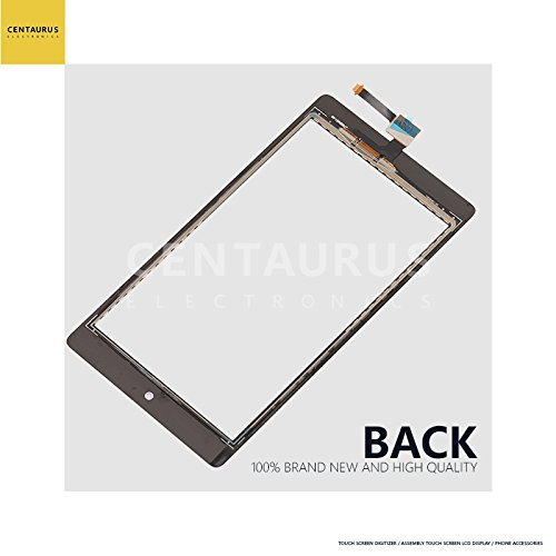 for Alcatel One Touch POP 7 LTE 4G 9015W LCD Display Touch Screen Digitizer Replacement Black ()