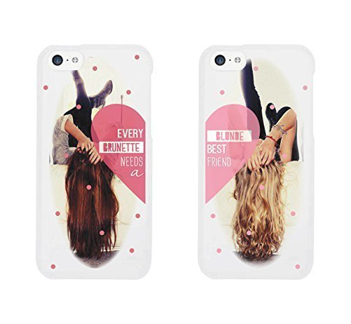 Every Brunette Needs Blonde Best Friend BFF Phone Cases for iphone 4, iphone 5, Case Cover For Ipod Touch 5 iphone 6, Case Cover For Ipod Touch 5 Galaxy S3, Galaxy S4, Galaxy S5, HTC M8, LG G3