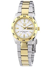 Seiko Women's 5 Automatic SYMG42K Silver Stainless-Steel Automatic Watch
